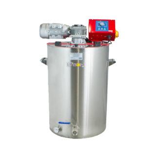 Кремовалка 100 л, 230 В, с водным подогревом, блок СО-2