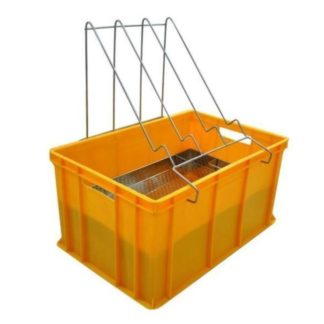 Пластиковая ванночка для распечатки 300 мм с нержавеющим ситом