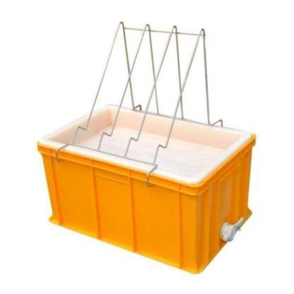 Пластиковая ванночка для распечатки 300 мм с пластиковым ситом