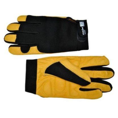 Перчатки кожаные (MECH)