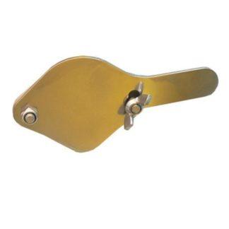 Задвижка для крана (из нержавеющей стали 3 мм)