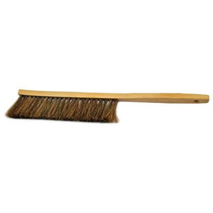 Щетка пчеловодческая, длинная, щетина из конского волоса, деревянная ручка