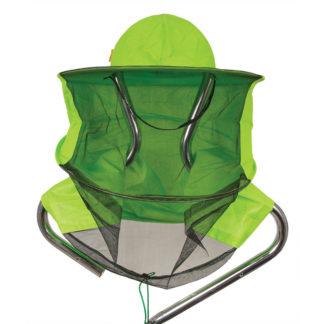 Шляпа пчеловодческая с лицевой сеткой (сетка спереди, ткань сзади)