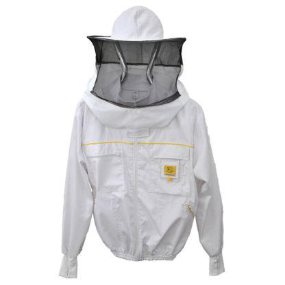 Куртка пчеловодческая со шляпой на застежке-молнии, Premium