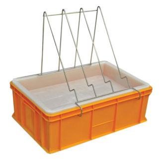 Пластиковая ванночка для распечатки 200 мм с пластиковым ситом