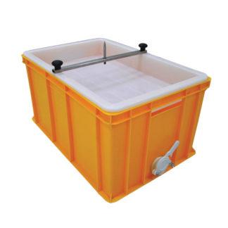 Пластиковая ванночка для распечатки 300 мм, с пластиковым ситом и стержнем