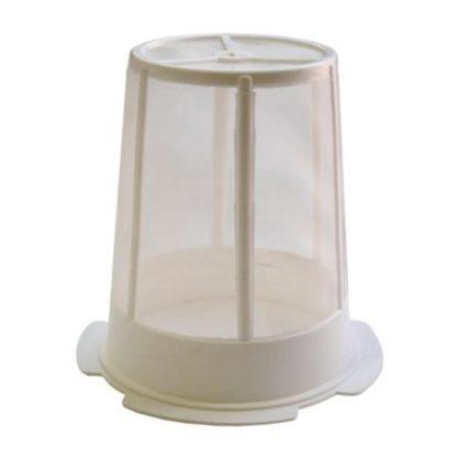 Сито цилиндрическое, пластиковое, с нейлоновой сеткой