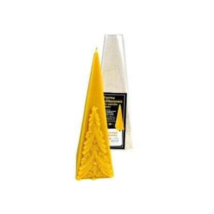 Силиконовая форма «Пирамида с елкой»