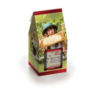 Упаковка для банок с медом P13c