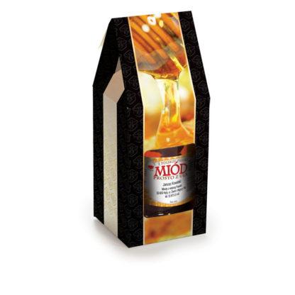 Упаковка для банок с медом P14a