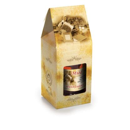 Упаковка для банок с медом P14d