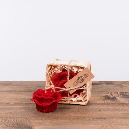Свеча-пакет «Красная роза», восковая