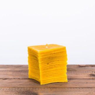 """Свеча """"Куб"""", натуральная"""