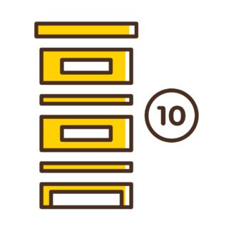 Элементы для 10-рамочного улья, Дадан, Рут