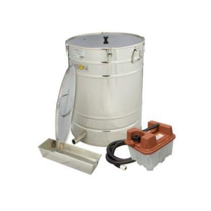Воскотопка на базе нержавеющего отстойника 100 л, с парогенератором
