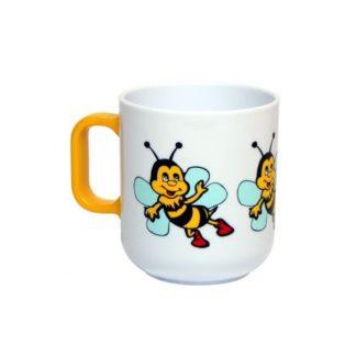 Кружка пластиковая с пчеловодческим принтом, 280 мл, KUD2