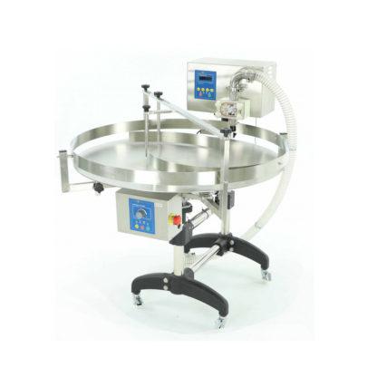 Насос-дозатор с автоматическим поворотным столом