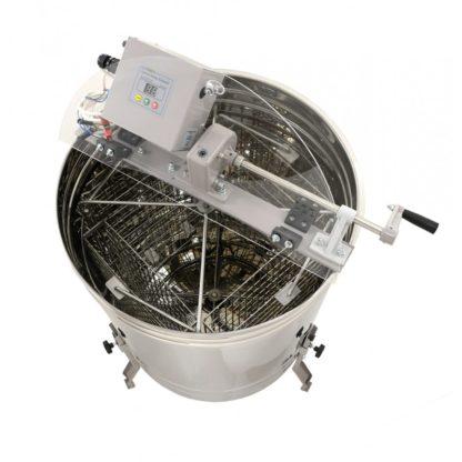 Медогонка 4-рамочная, кассетная, ручной и электрический привод, Optima