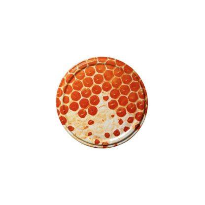 Крышка для банок с медом, металлическая, 82 мм