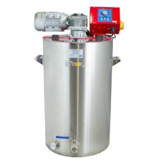 Оборудование для кремования меда 100 л, с водным подогревом и блоком управления CO-2