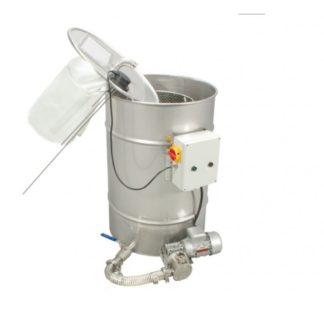 Отстойник с насосом для фильтрования меда