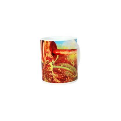 Кружка керамическая с пчеловодческим принтом, 330 мл, PKUB10