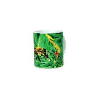 Кружка керамическая с пчеловодческим принтом, 330 мл, PKUB9