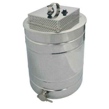 Греющая крышка с функцией топки забруса для отстойника 150 л