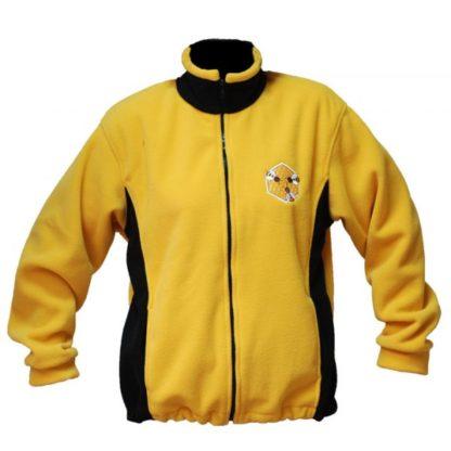 Блуза из флиса, желтая