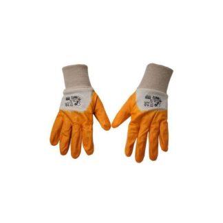 Перчатки резиновые с манжетами