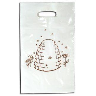Пакет полиэтиленовый, белый, 21 х 35 см, 50 шт.