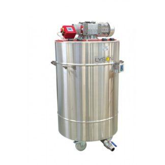 Оборудование для кремования и декристаллизации меда, 600 л, 400 В, автомат