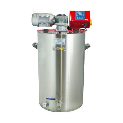 Кремовалка 200 л, 230 В, с водным подогревом, блок СО-2